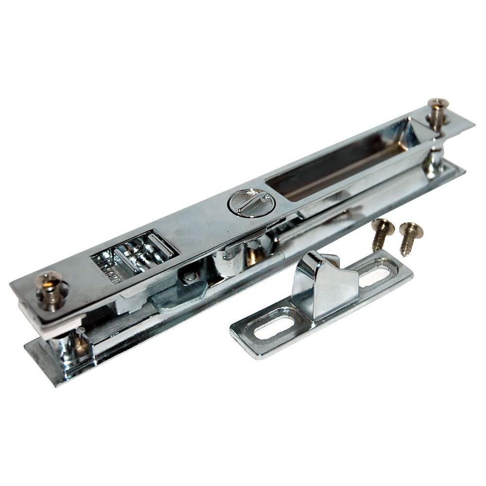 #444 Chrome-Plated Patio Door Lock
