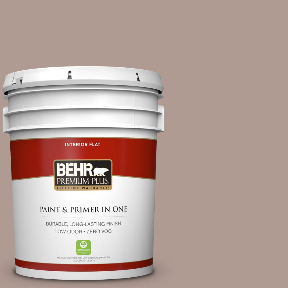 5-gal. #N170-4 Coffee with Cream Flat Interior Paint
