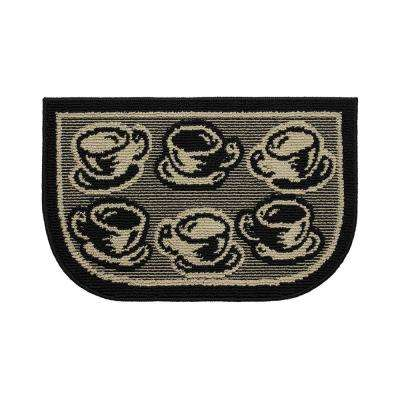 Bed and Breakfast Coffee 18 in. x 30 in. Kitchen Rug