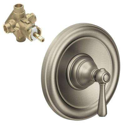 Kingsley 1-Handle PosiTemp Valve Trim Kit with Valve in Brushed Nickel