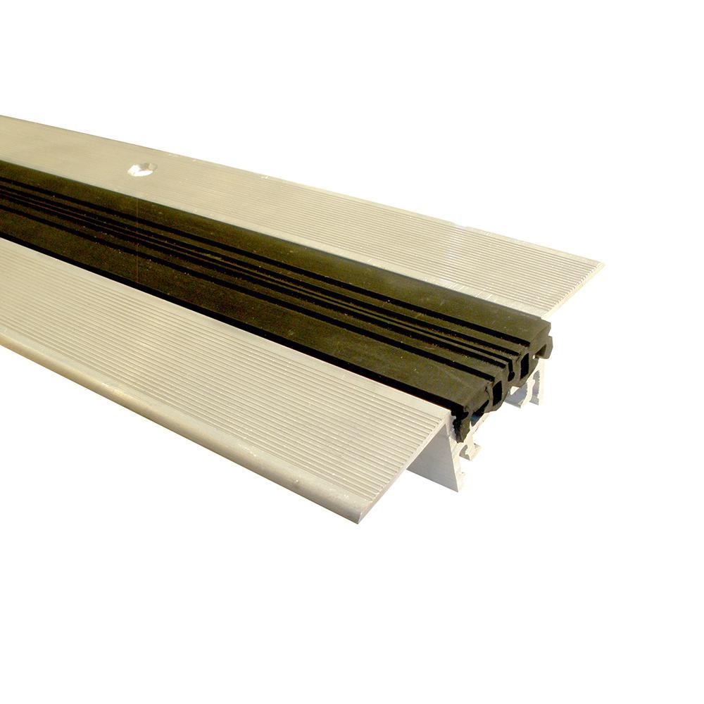Novojunta Pro Anti-Slip Alum Black 1-3/8 in. x 98-1/2 in. Aluminum Expansion Joint