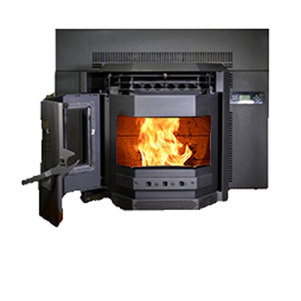 Comfortbilt 50 000 Btu 2800 Sq Ft Epa, Englander 27 5 In 1500 Sq Ft Wood Burning Fireplace Insert