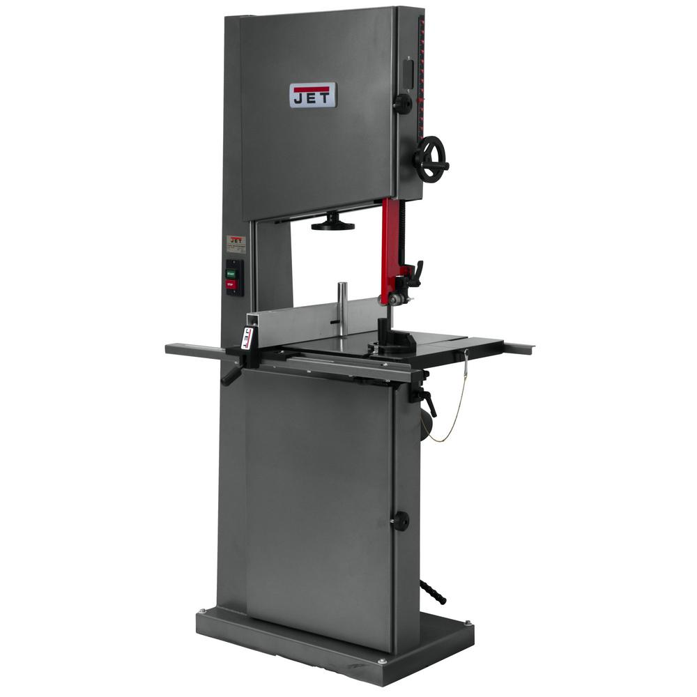 1 HP 18 in. Metalworking and Woodworking Vertical Band Saw, 6-Speed,