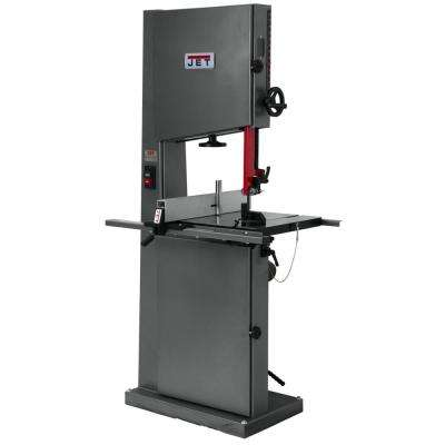 1 HP 18 in. Metalworking and Woodworking Vertical Band Saw, 6-Speed, 115/230-Volt, VBS-18MW