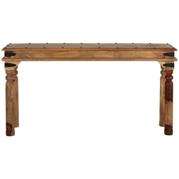 Home Decorators Collection Fields Weathered Brown Console Table 9690400820