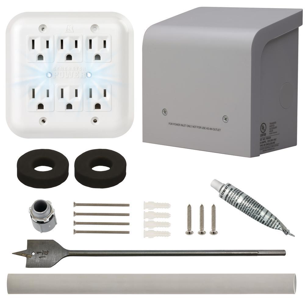 Portable Generator Through the Wall Kit
