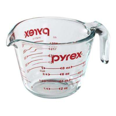 Red & Clear Measuring Cup