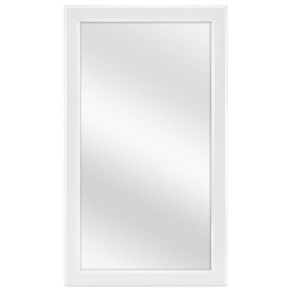 15-1/4 in. W x 26 in. H Framed Surface-Mount Bathroom Medicine Cabinet in White