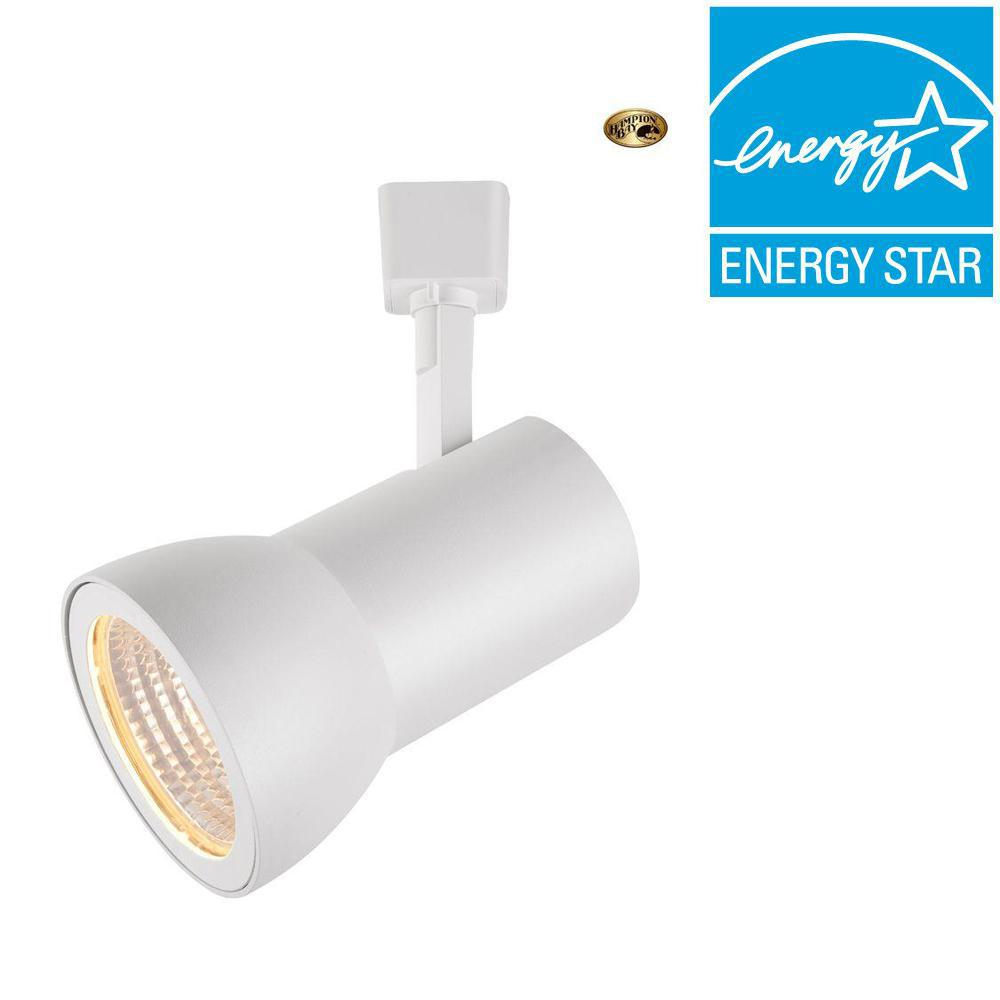 White LED Dimmable Large Cylinder Track Lighting Head