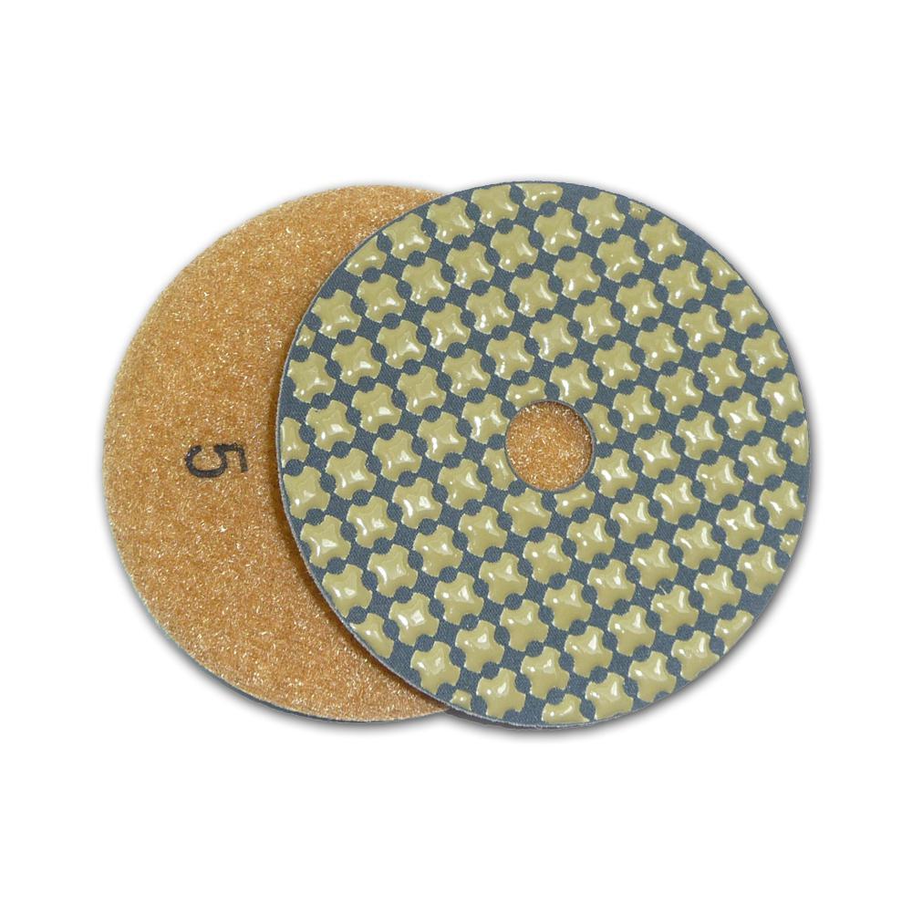 4 in. 5-Step Dry Diamond Polishing Pads Step 5