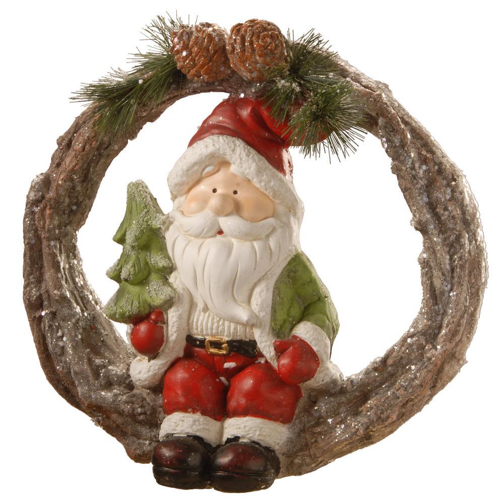 14 in. Magnesia Santa