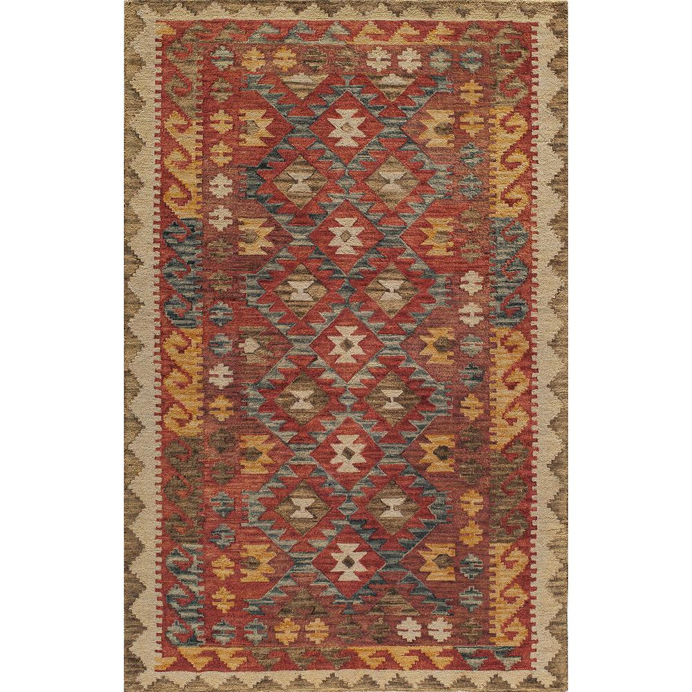 Tangier Red 7 ft. 6 in. x 9 ft. 6 in.