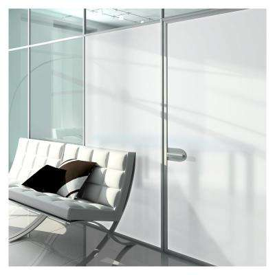 36 in. x 50 ft. MTWH White Frosted Privacy Window Film