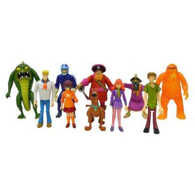 Scooby Doo Action Figure Friends and Foes (10-Pack)