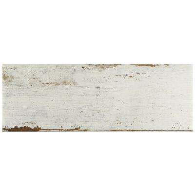 Retro Blanc 8-1/4 in. x 23-1/2 in. Porcelain Floor and Wall Tile (11.22 sq. ft. / case)