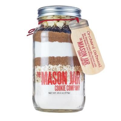 Orchard Oatmeal Cookie Mix in a Mason Jar
