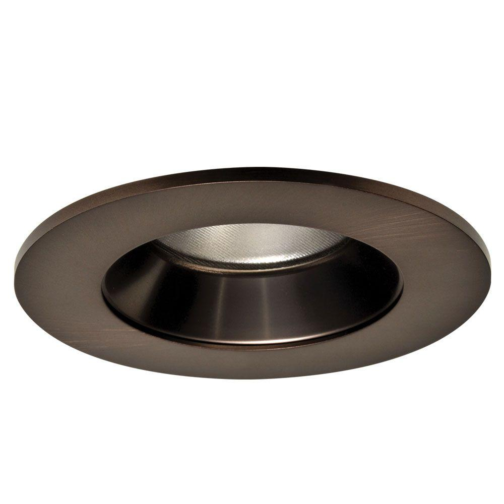 Tuscan Bronze Specular Recessed Ceiling Light Led Reflector Trim