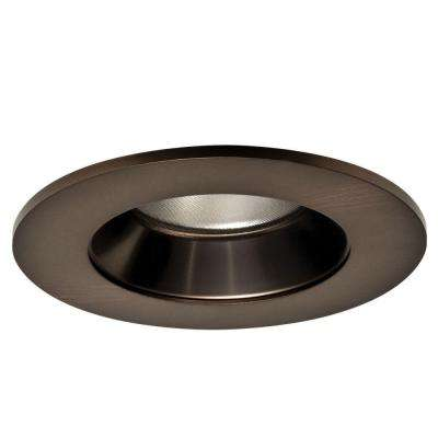 4 in. Tuscan Bronze Specular Recessed Ceiling Light LED Reflector Trim