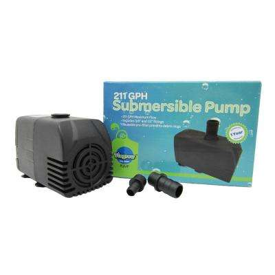 211 GHP Hydroponic, Fountain and Pond Submersible Pump