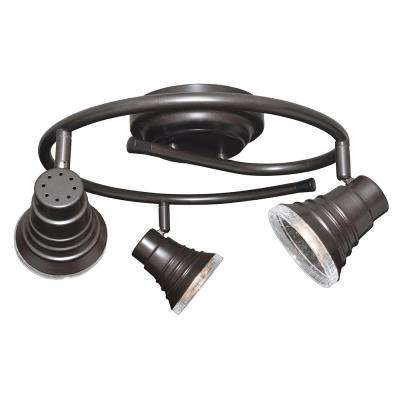 2 ft. Oil-Rubbed Bronze Integrated LED Fixed Track Lighting Kit