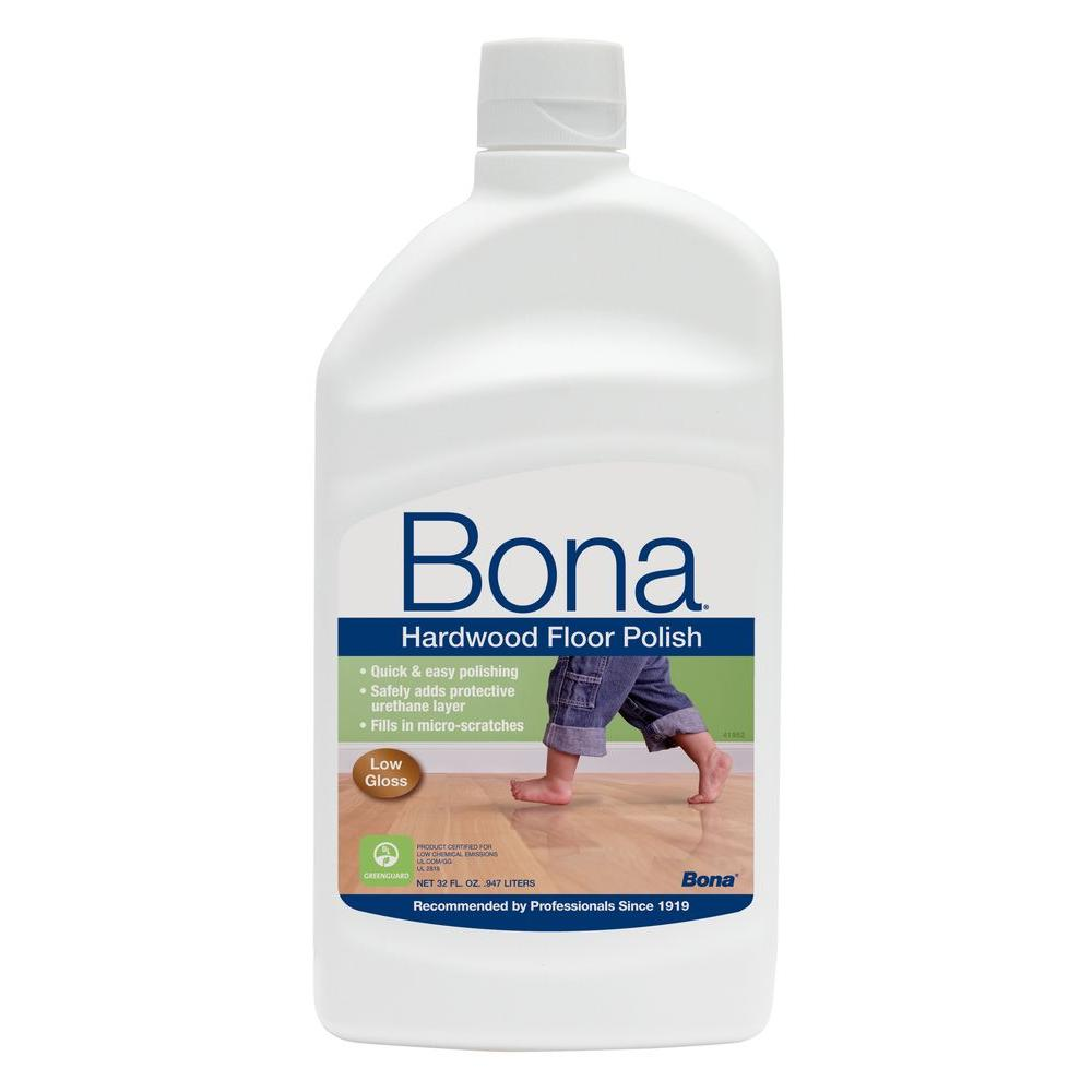 Bona 32 oz. Low-Gloss Hardwood Floor Polish