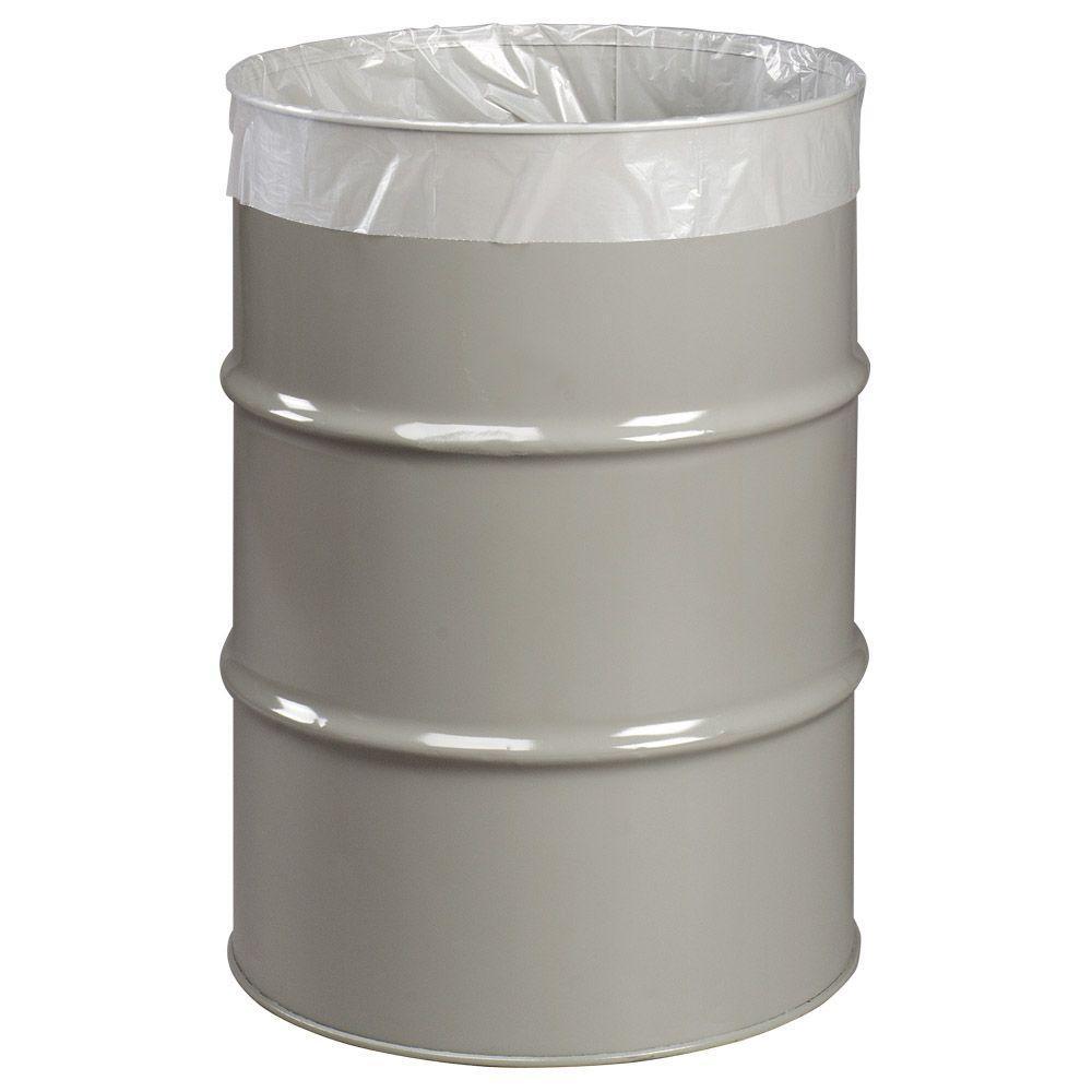 Husky Drum Liners : Husky gal economy natural trash liners count
