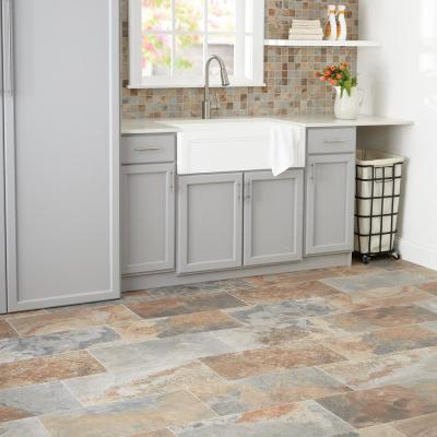 VitaElegante 12 in. x 12 in. x 6.35mm Ardesia Ceramic Mosaic Floor and Wall Tile (1 sq. ft. / piece)