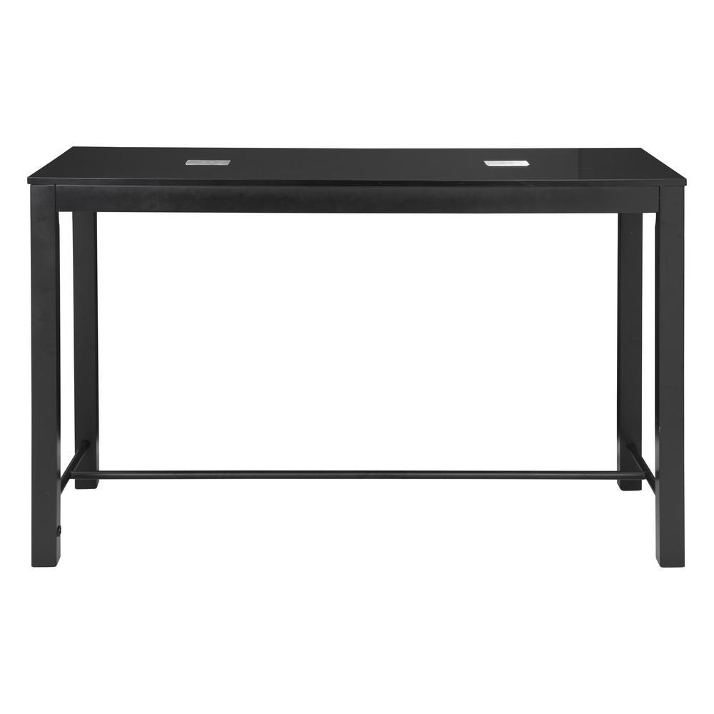 Odin Black Bar Table