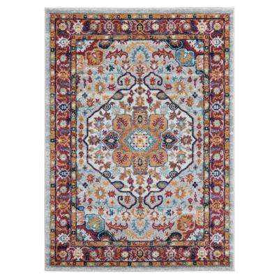 United Weavers Bali Caymen Multi 7 ft. 10 in. x 7 ft. 10 in. Round Rug