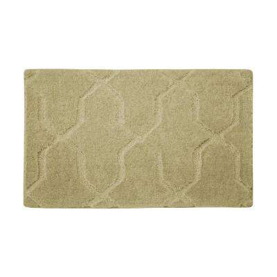 Pearl Drona Banana 17 in. x 24 in. Bath Mat