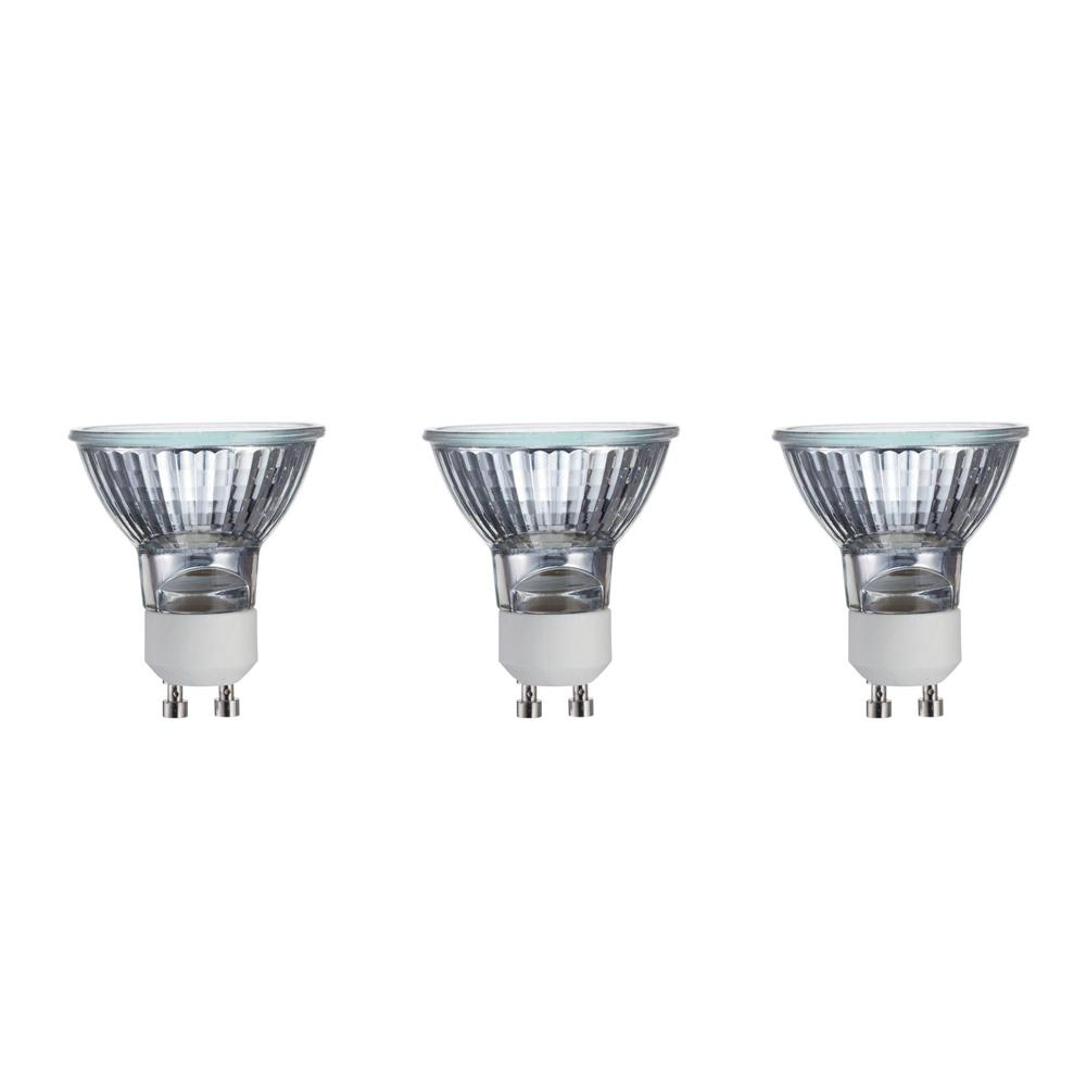 philips 50 watt mr16 halogen gu10 twistline dimmable flood light bulb 3 pack 415794 the home. Black Bedroom Furniture Sets. Home Design Ideas