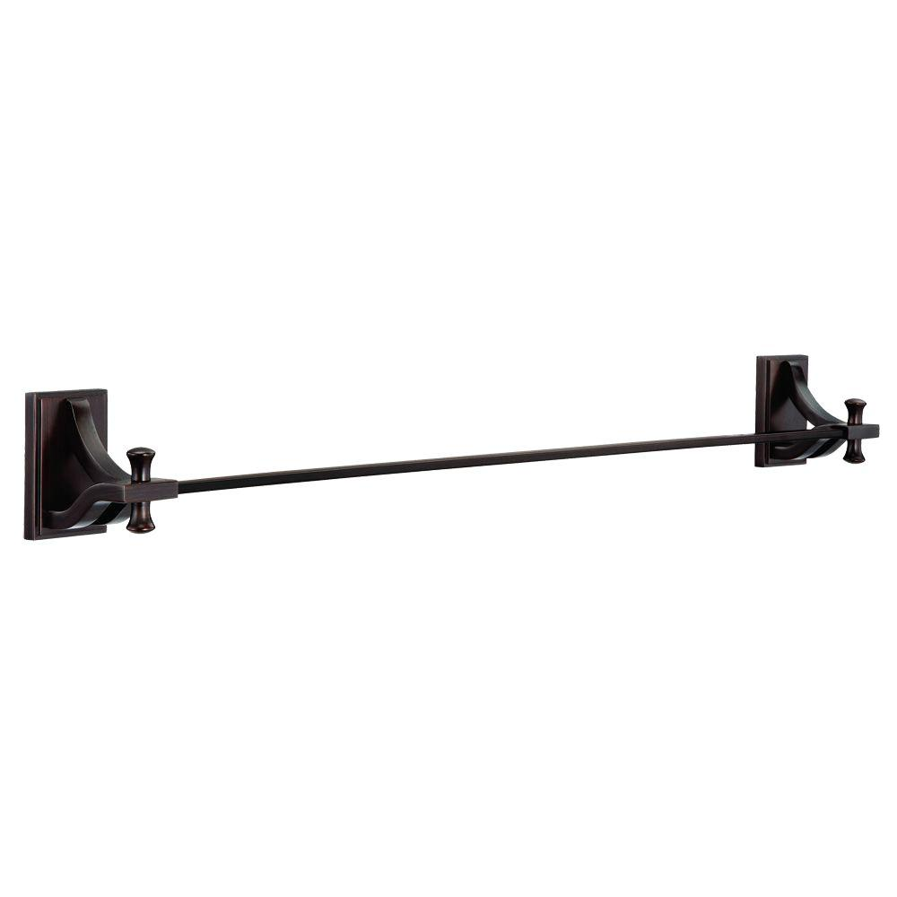 Design House Ironwood 24 in. Towel Bar in Brushed Bronze