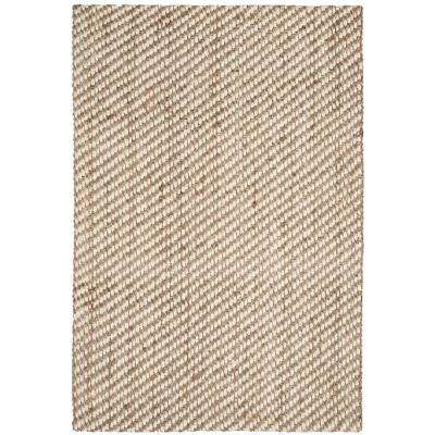 Natural Fiber Beige 3 ft. x 5 ft. Area Rug
