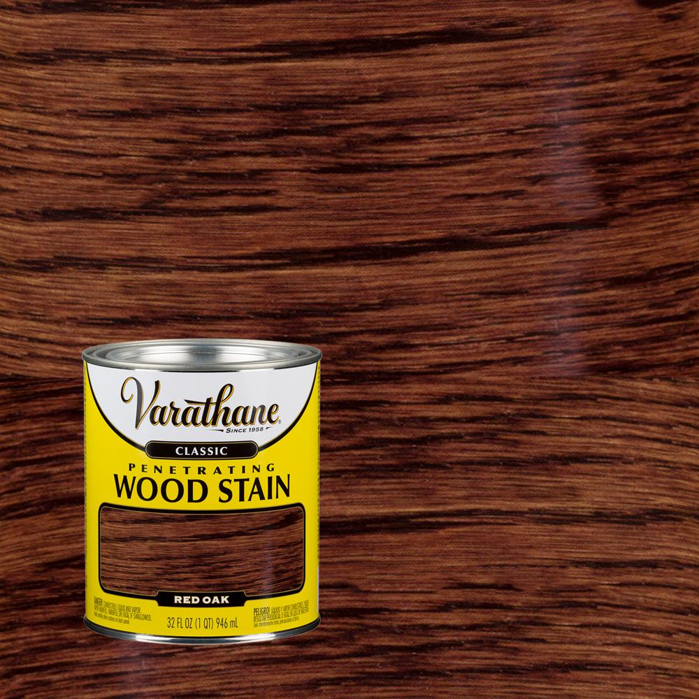 Varathane 1 qt. Red Oak Classic Wood Interior Stain