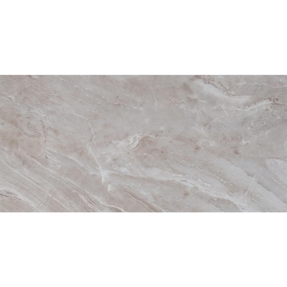 MSI Bergamo Gris 12 in. x 24 in. Glazed Ceramic Floor and Wall Tile ...