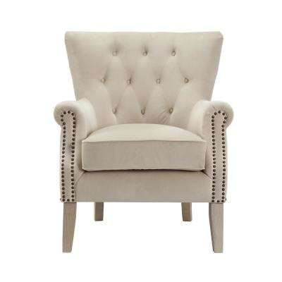 Tilda Beige Accent Chair