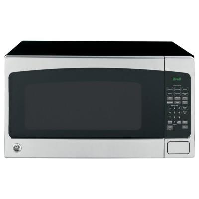 Ge 2 0 Cu Ft Countertop Microwave In