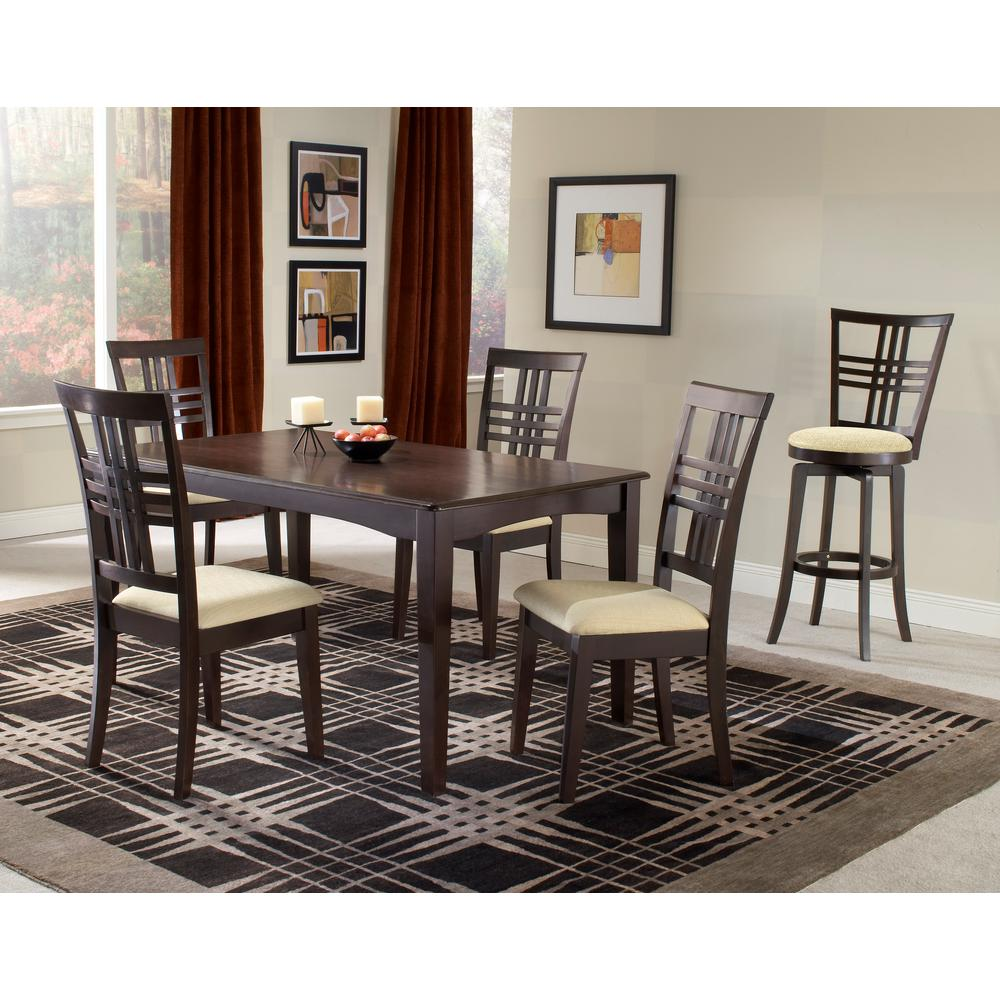 Hillsdale Furniture Tiburon 5-Piece Espresso Dining Set