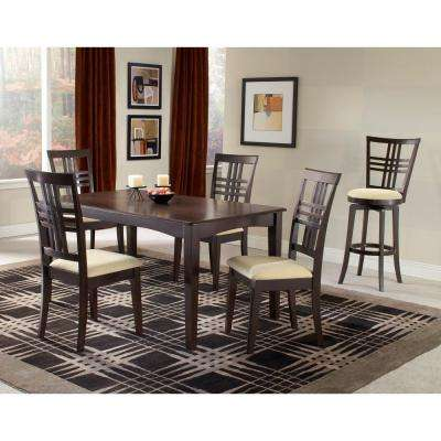 Tiburon 5-Piece Espresso Dining Set