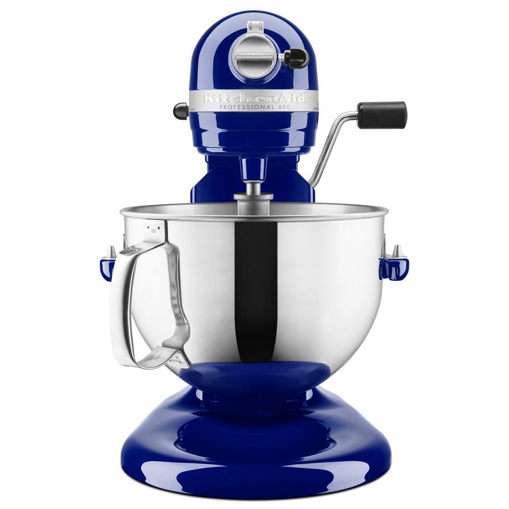 Exceptionnel Internet #204151474. KitchenAid Professional 600 Series 6 Qt. Cobalt Blue  ...