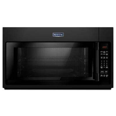 2.0 cu. ft. Over the Range Microwave Hood in Black