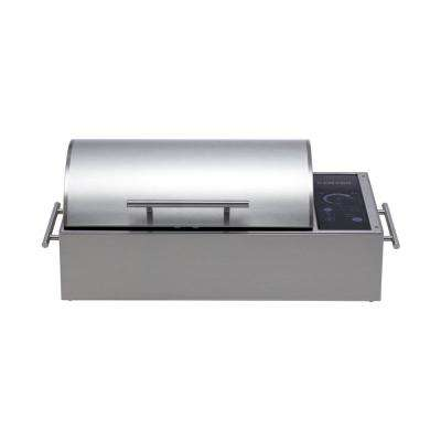 Floridian Portable Electric Grill in Stainless Steel with IntelliKEN Touch Control