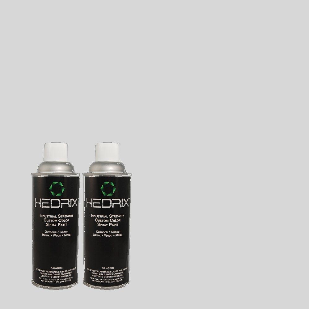 Hedrix 11 oz. Match of PPU14-17 Polar Drift Semi-Gloss Custom Spray Paint (8-Pack)