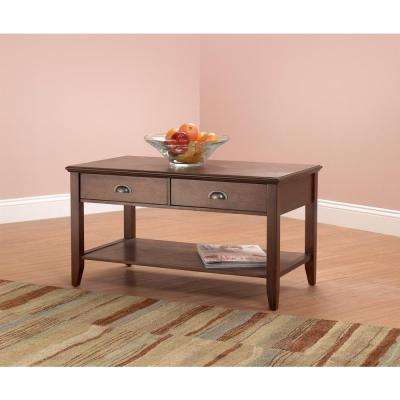 Superieur Foremost Sheridan Walnut Coffee Table