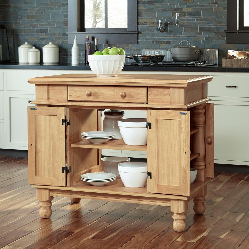 Internet #300912719. +2. Home Styles Americana Maple Kitchen Island ...