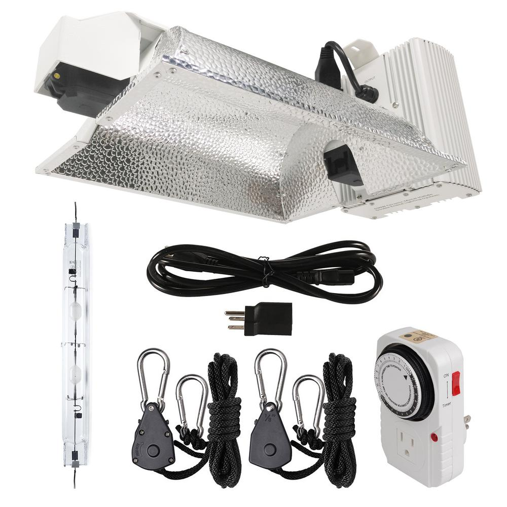 630-Watt CMH Double Ended DE Ceramic Metal Halide Enclosed Style Complete