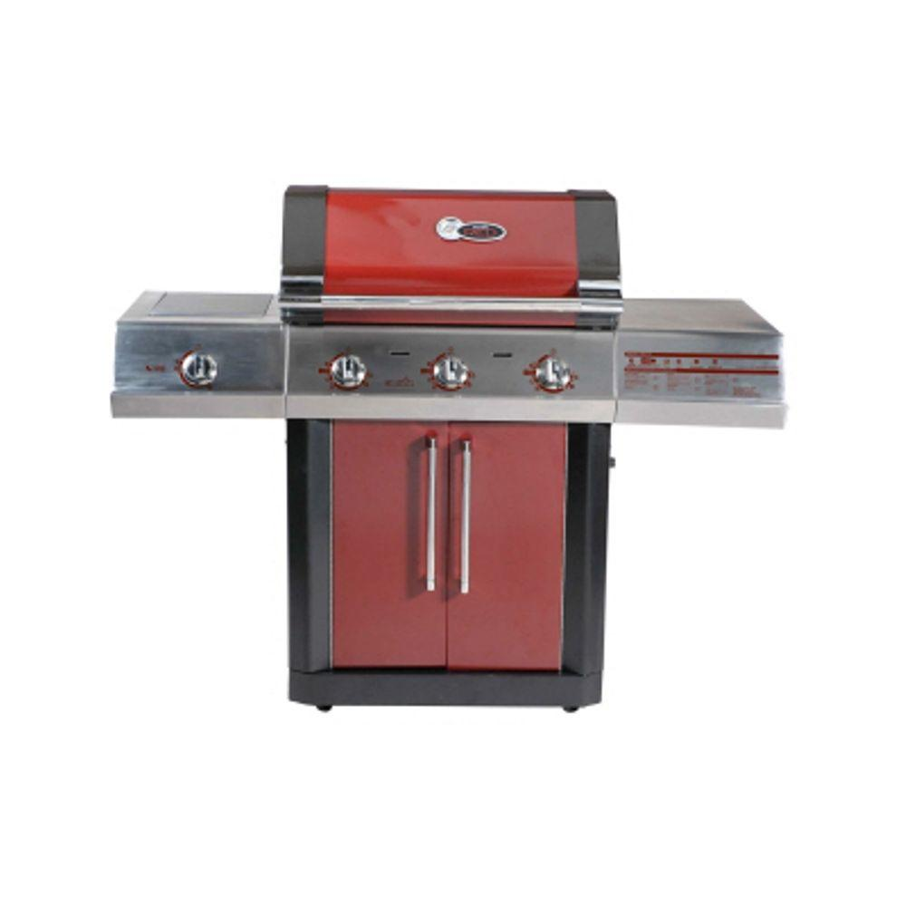 Char-Broil RED TRU-Infrared 3-Burner Propane Gas Grill-DISCONTINUED