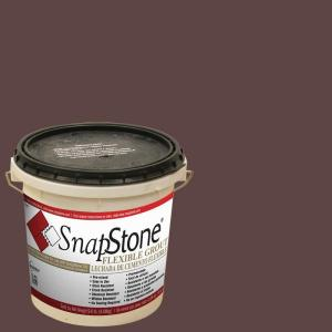 SnapStone Chestnut 9 lb. Pail Urethane Flexible Grout by SnapStone