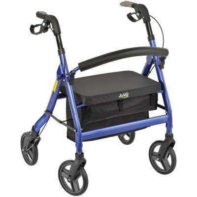 4-Wheel Personal Rollator Heavy-Duty Model