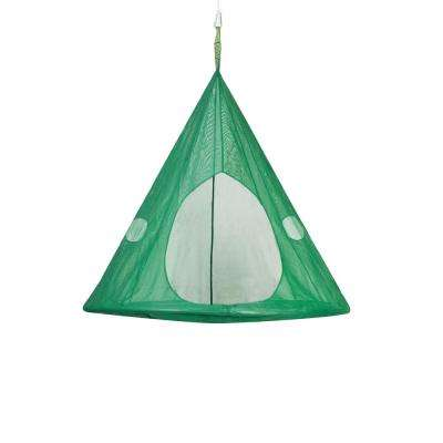 5 ft. x 5 ft. Dia Portable Hammock in Dark Green
